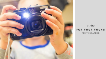 3 tips for a young photographer