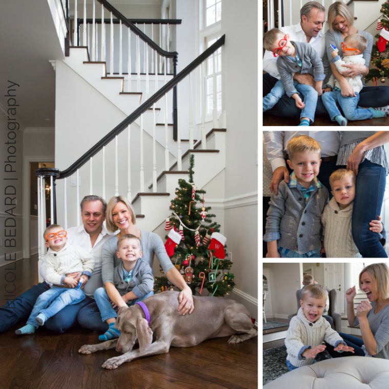 Family Photo Session by Nicole Bedard Photography