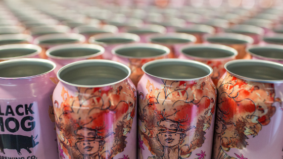 On Assignment: The Art Of CT Beer Can Labels