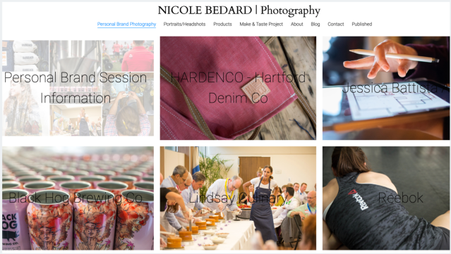Personal Brand Photography by Nicole Bedard Photography