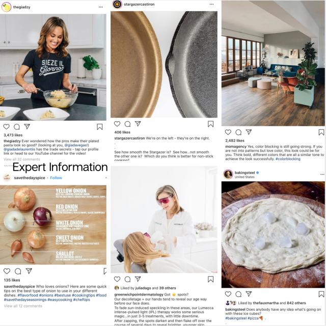 Expert Information brand images